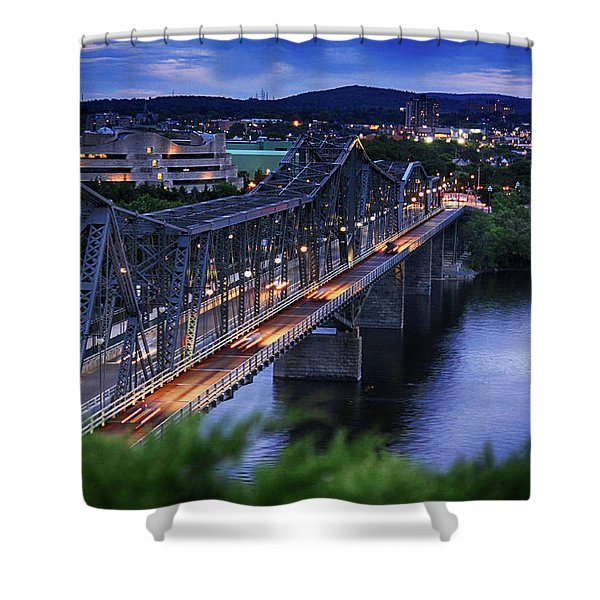 Royal Alexandra Interprovincial Bridge Shower Curtain
