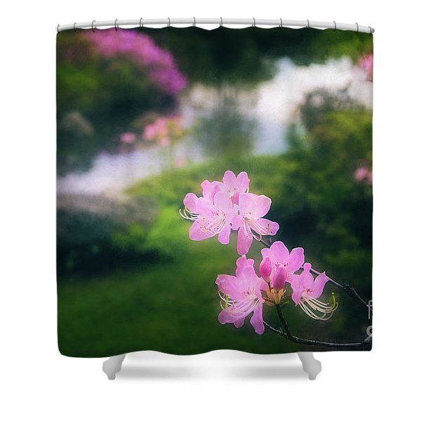 Royal Azaleas At Asticou Azalea Garden Shower Curtain
