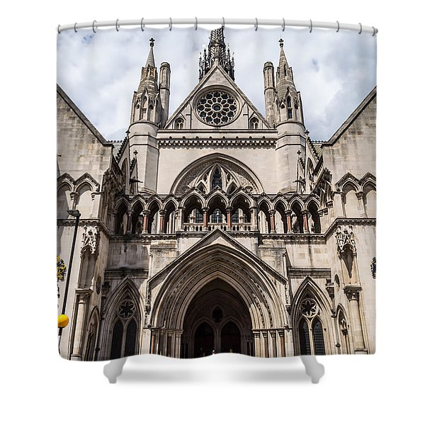 Royal Courts Of Justice In London Shower Curtain