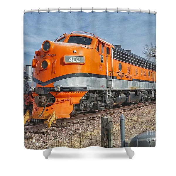 Royal Gorge Route 402 Shower Curtain