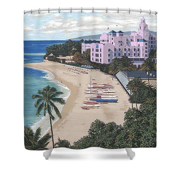 Royal Hawaiian Shower Curtain