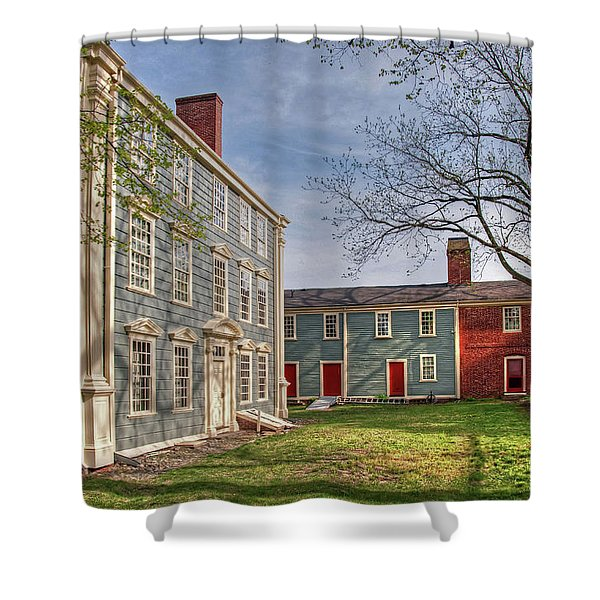 Royall House And Slave Quarters Shower Curtain