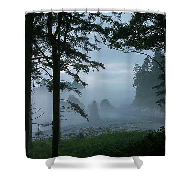Ruby Beach II Washington State Shower Curtain