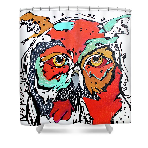 Ruby Two Shower Curtain