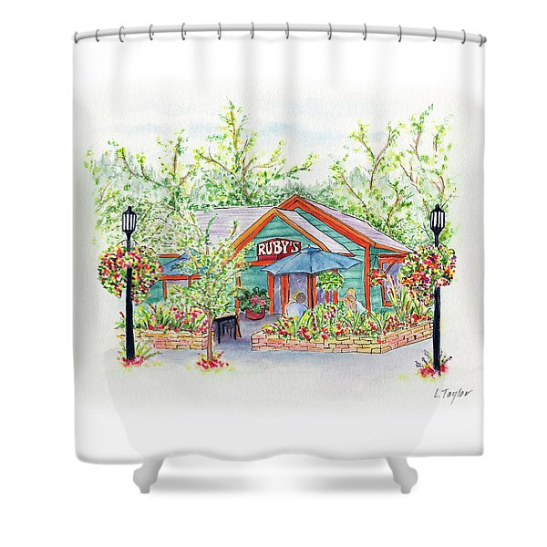 Ruby's Shower Curtain