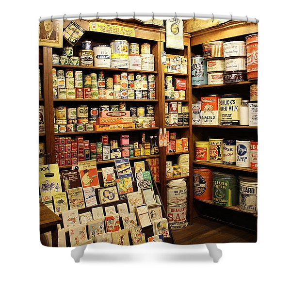 Ruddy's 1930 General Store Shower Curtain