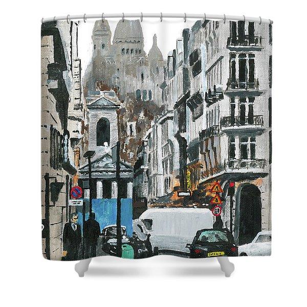 Rue Lafitte Shower Curtain