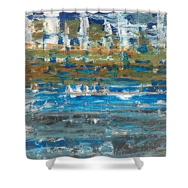 Rugged Shower Curtain