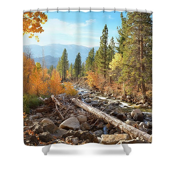 Rugged Sierra Beauty Shower Curtain