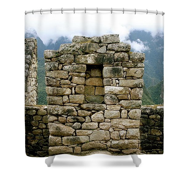 Ruins In A Lost City Shower Curtain