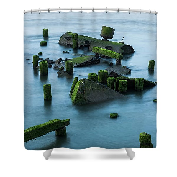 Ruins Of The Day Shower Curtain