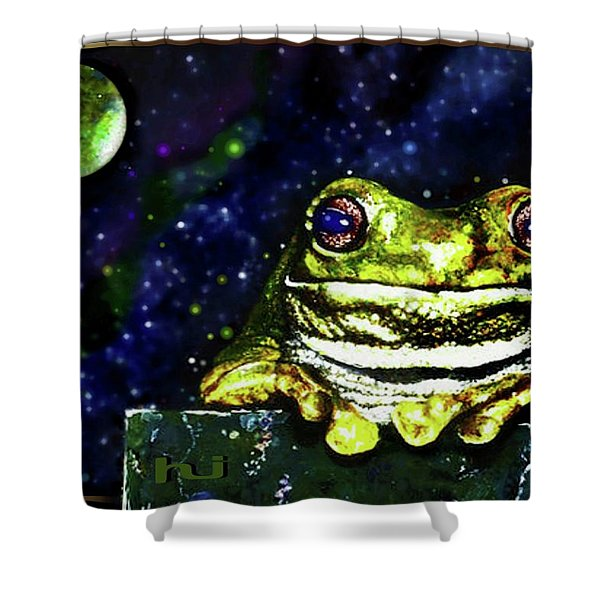 Ruler Of The Cosmos  Shower Curtain