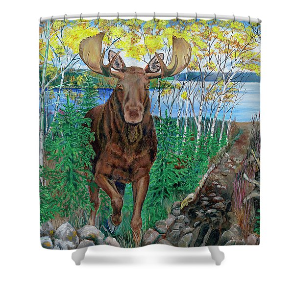 RUN Shower Curtain