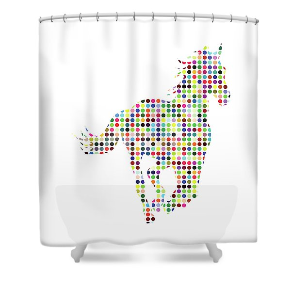 Running Shower Curtain