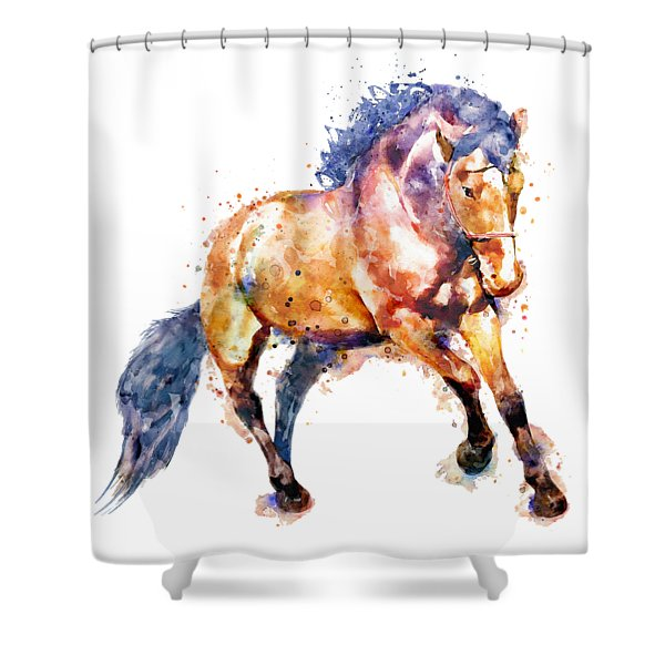 Running Horse Shower Curtain