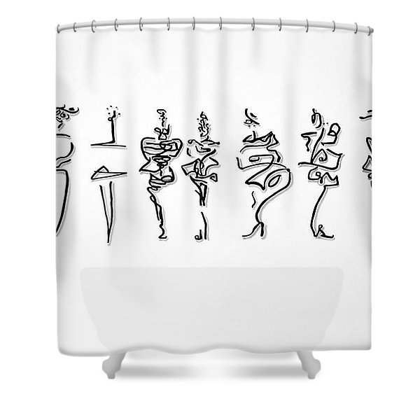 Runway Ladies Shower Curtain