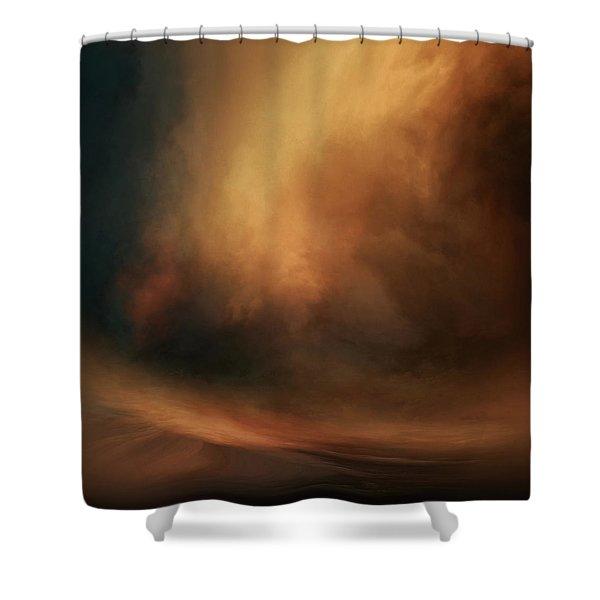 Rupture Shower Curtain