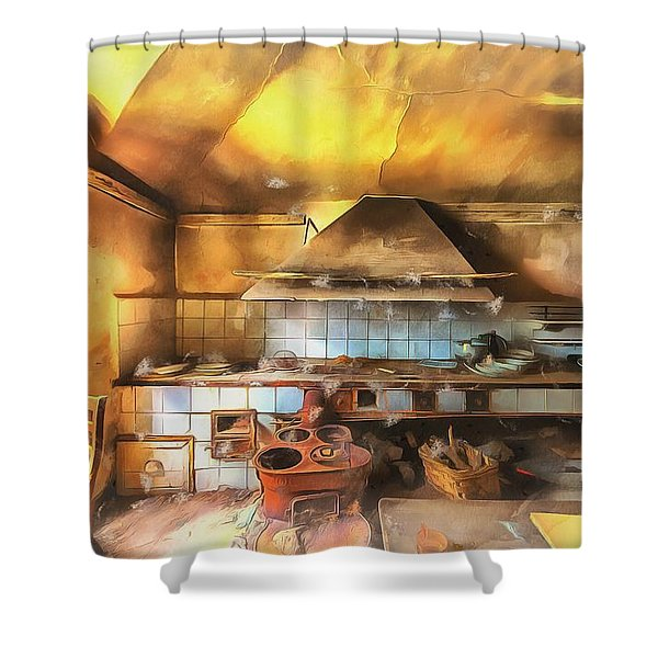 Rural Culinary Atmosphere Nr 2 - Atmosfera Culinaria Rurale IIi Paint Shower Curtain
