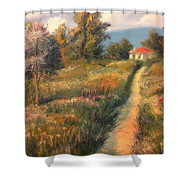 Rural Idyll Shower Curtain
