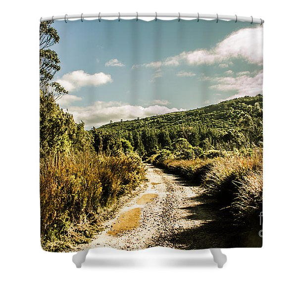 Rural Paths Out Yonder Shower Curtain
