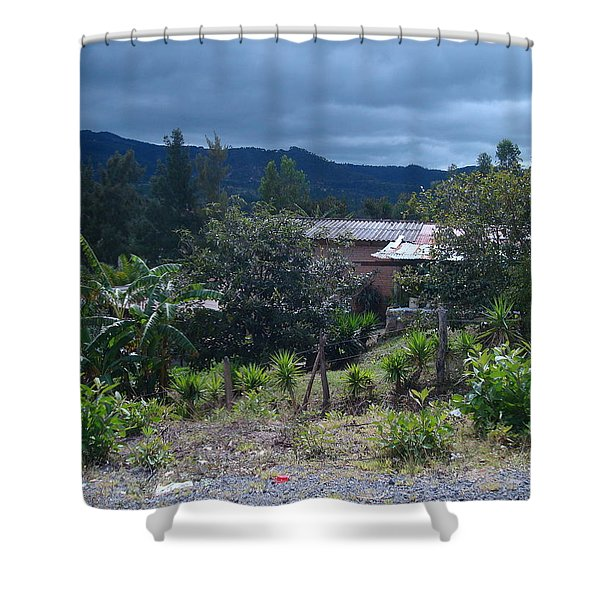 Rural Scenery 1 Shower Curtain
