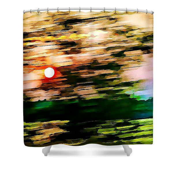 Rush To Go Home Shower Curtain