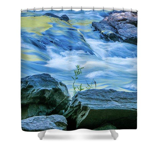 Rushing Creek Shower Curtain