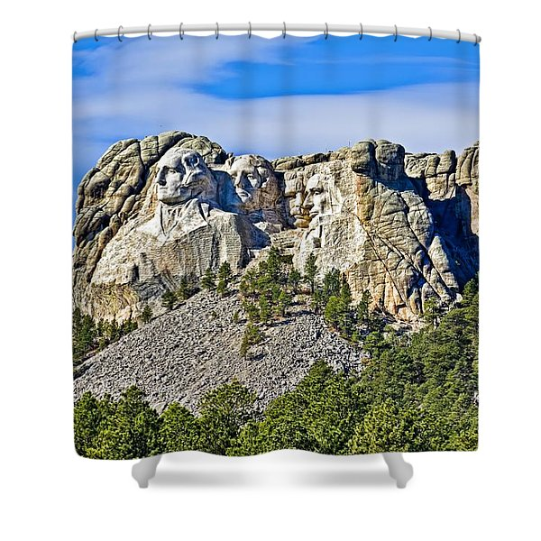 Rushmore Shower Curtain