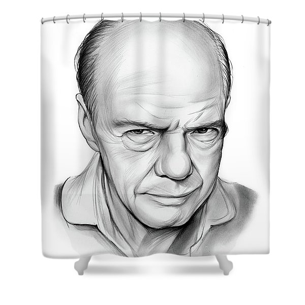 Russell Collins Shower Curtain