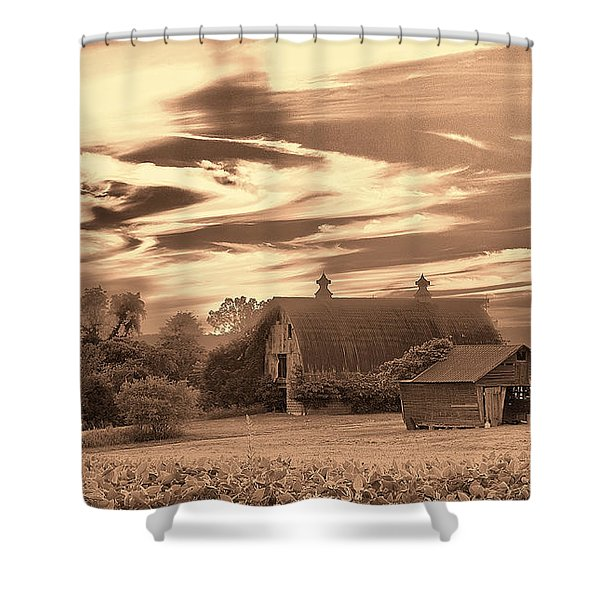 Rustic Barn 2 Shower Curtain
