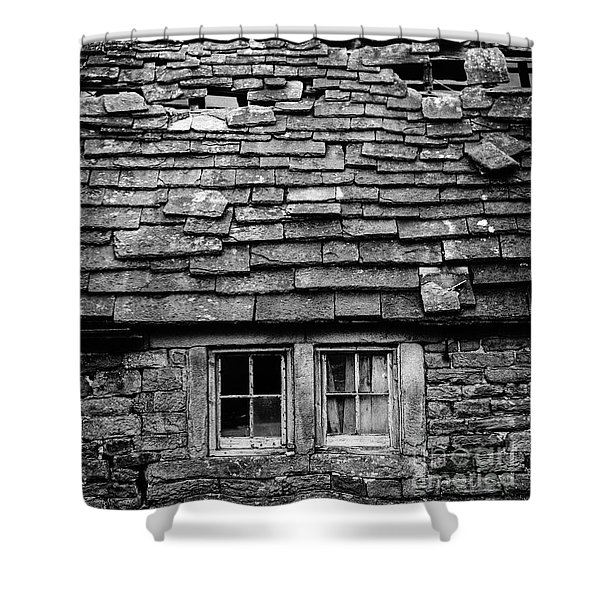 Rustic Cottage Shower Curtain