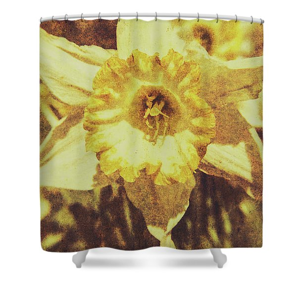 Rustic September Shower Curtain