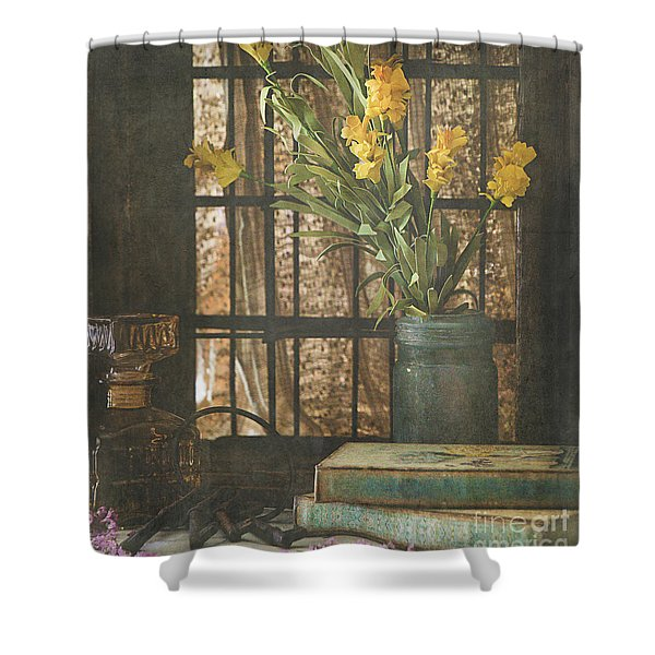 Rustic Still Life 1 Shower Curtain