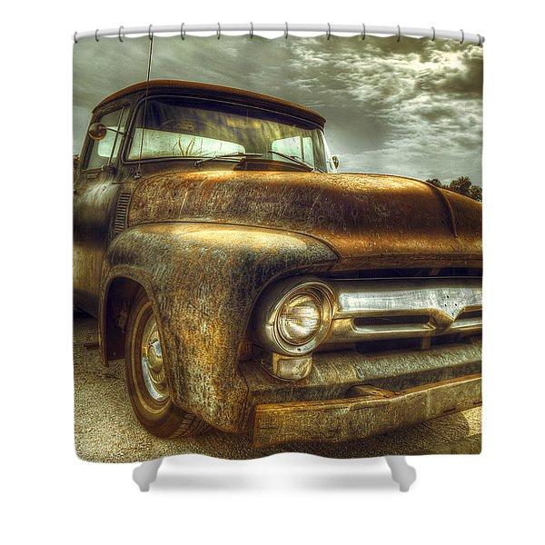 Rusty Truck Shower Curtain
