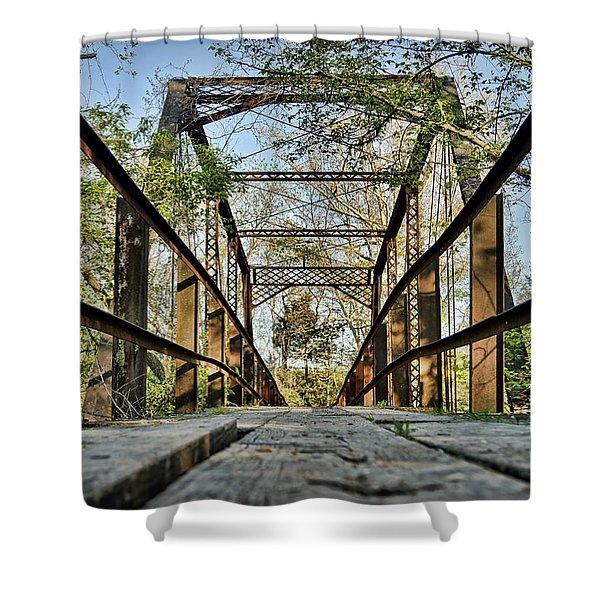 Englewood Bridge Shower Curtain