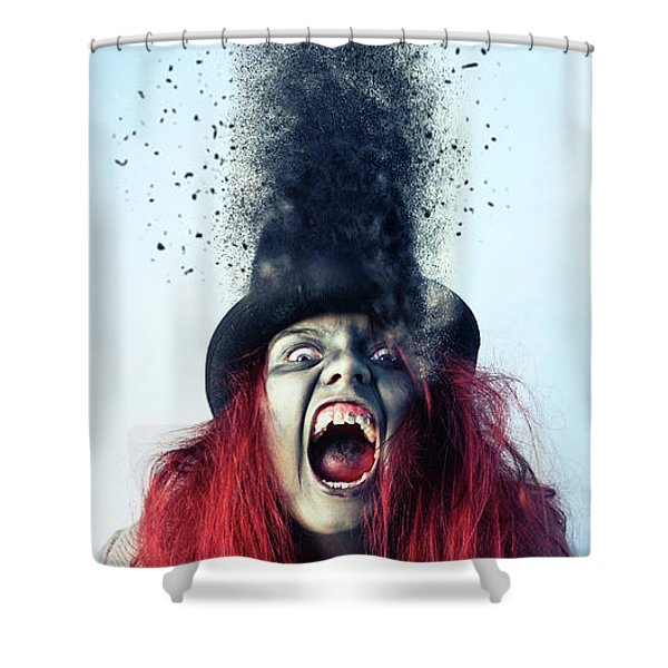 S C A R Y  Shower Curtain