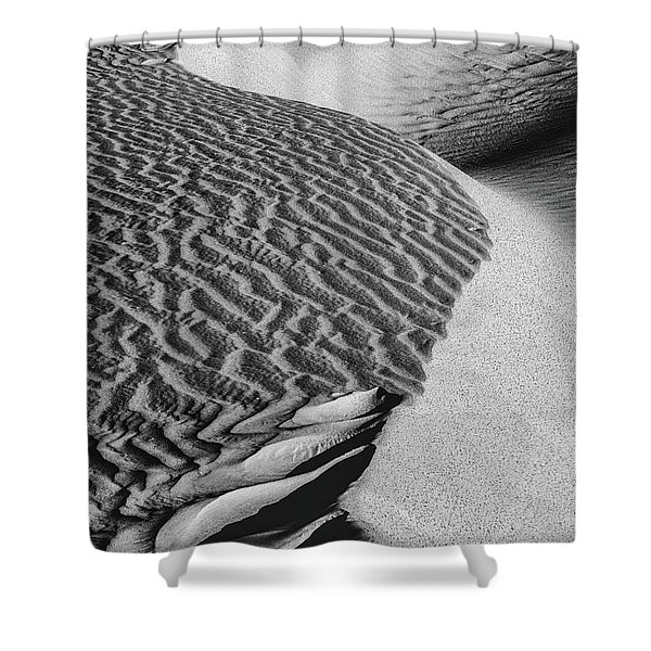 S-s-sand Shower Curtain