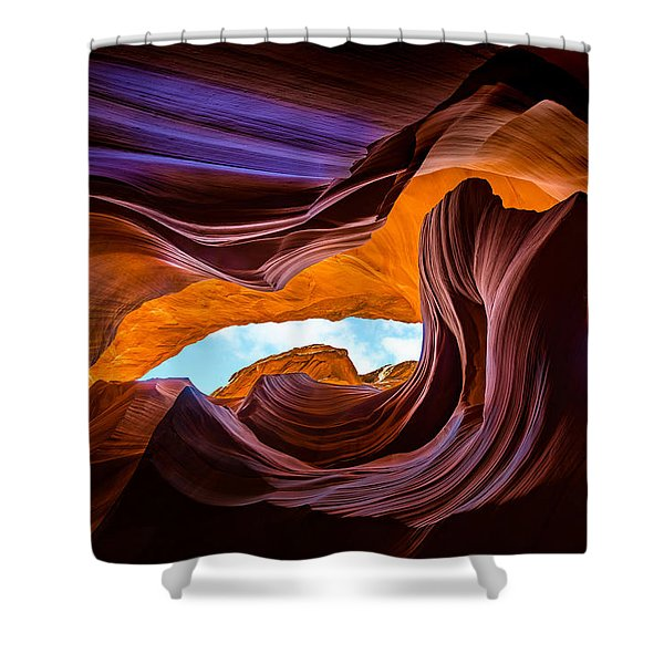 Sacred Colors Shower Curtain