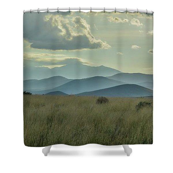Sacred Mountain Shower Curtain