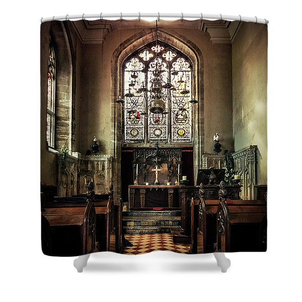 Sacredness  Shower Curtain