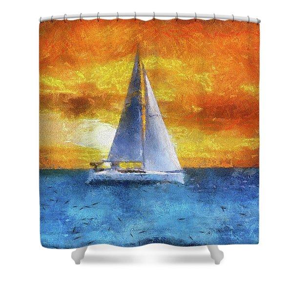 Sail Boat Pa 02 Shower Curtain