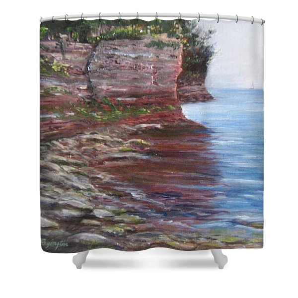 Sail Into The Light Shower Curtain