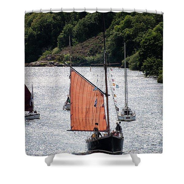 Sailing 46 Shower Curtain