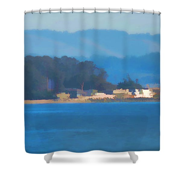 Sailing On The Monterey Bay Shower Curtain