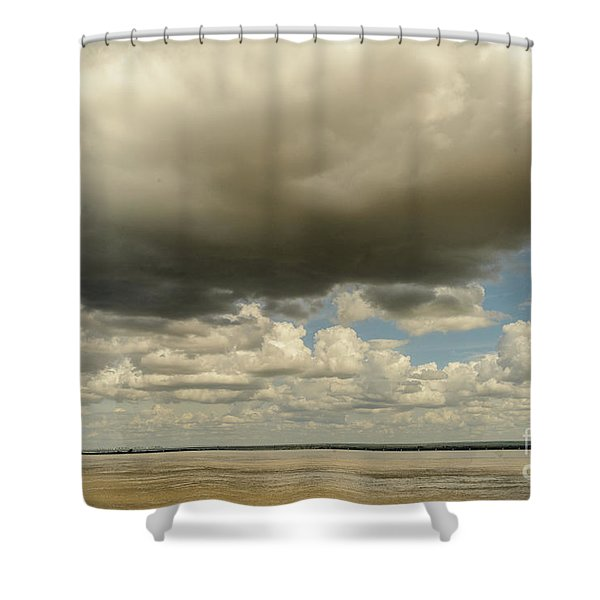 Sailing The Irrawaddy Shower Curtain