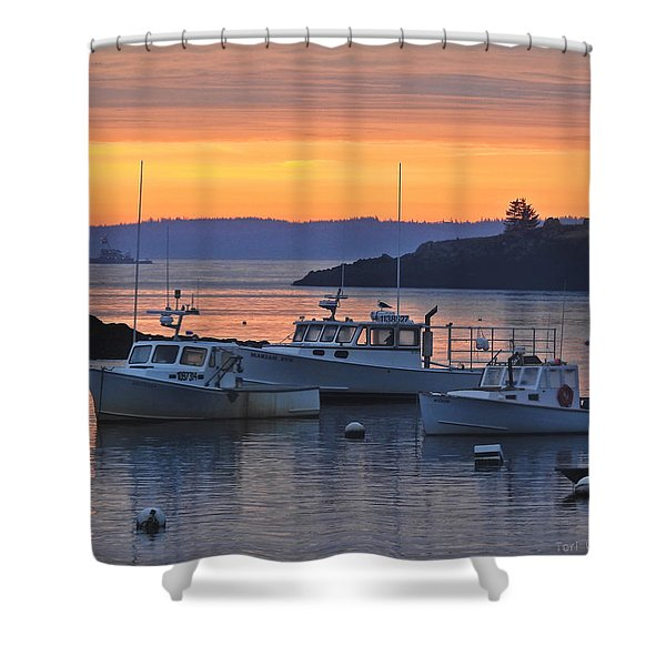 Sailors Dream Shower Curtain