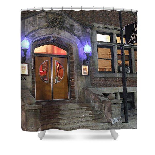 Saint Andrew's Music Hall Shower Curtain