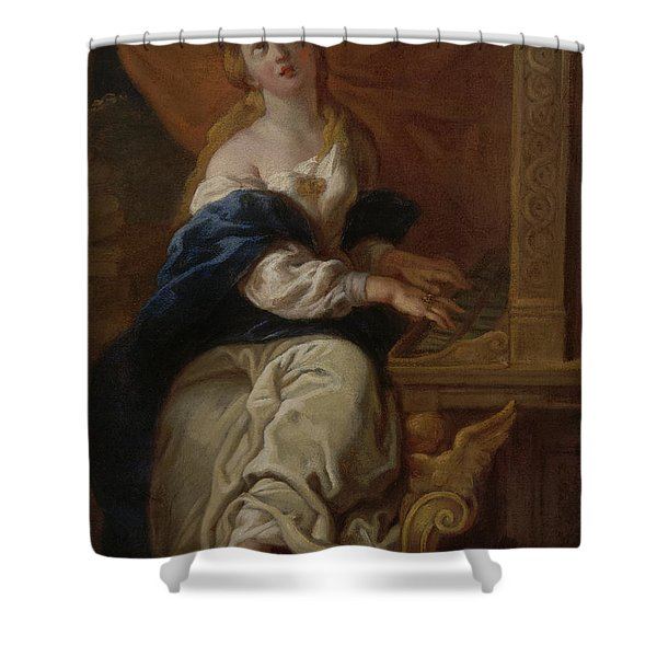 Saint Cecilia, Circa 1700 Shower Curtain