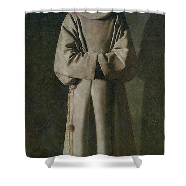 Saint Francis Shower Curtain