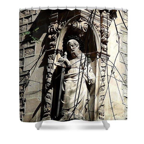 Saint Gardinan Shower Curtain